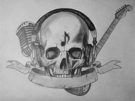 Tattoo Project - No Music, No Life! by killswitch90