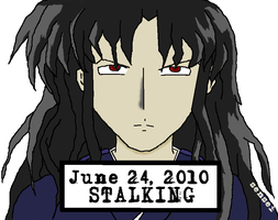 Naraku: Mug Shot by virtualpapercut