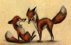 Fox Wars by Skia