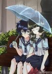 Rain Umbrella by Hana-Keijou