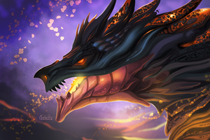 Magma Dragon by TsaoShin