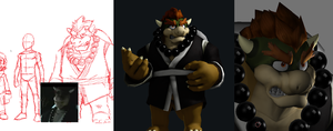 There Will Be Bowser WIP by JoeAdok