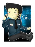 FnaF-Baby Phone-guy Alex by Sniper-Huntress