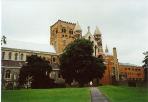 St Albans, England - Cathedral 1 by Ovid2345