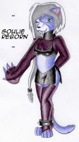 Anthro Rendition of Muhself X3 by SoulieReborn