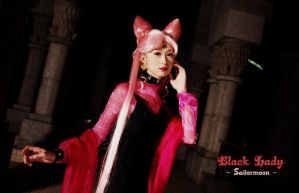 Sailormoon Black Lady by VenusLim