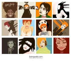 faces by BENQWEK