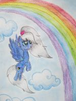 Prism and Rainbow by JellieLucy