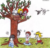 Death Note Kids by xxx-TeddyBear-xxx