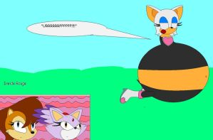 RQ: Rouge ate sally and blaze by jessica1133