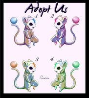 Adopt These Masked Mice - CLOSED by Piucca
