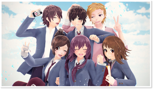 Confession Executive Committee Love Series - MMD by NipahMMD