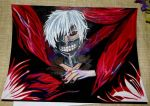 Drawing Kaneki Ken by mandykat