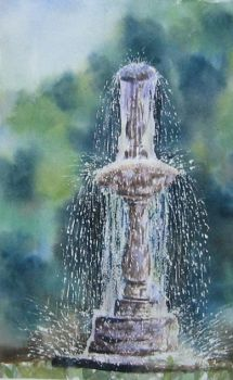 61. Fountain in the Park by Masasasaki