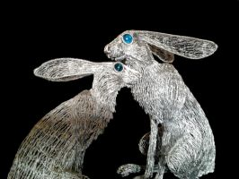 Hare pair 6 by braindeadmystuff