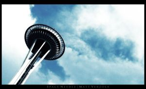 Space Needle by CapnVeeZee