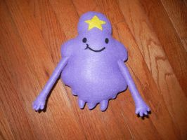 Lumpy space princess doll by HayleySkellington