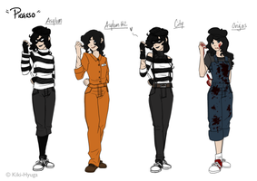 Character Sheet - Picasso by La-Mishi-Mish