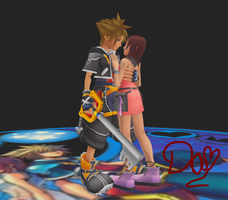 Will protect you 2- Sora x Kairi-MMD by danit09182