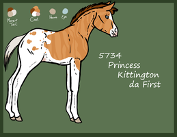 5734 Princess Kittington da First by allisondellue
