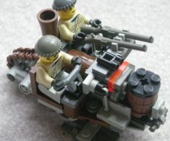 Steam Scout Sled Mk. XI by RRaillery