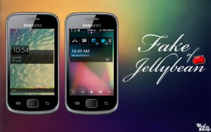 Fake of Jellybean by xsun9