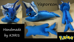 Vaporeon Plush by K3RI1