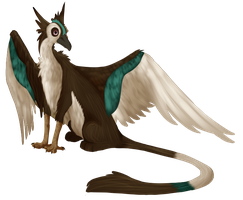 Crane Gryph by Cypeo
