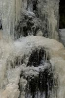 Frozen waterfall by Ainanas