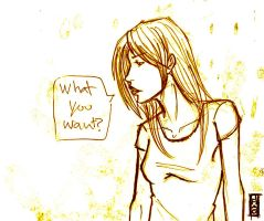 What You Want? by jmaomao