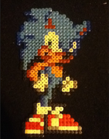 Hama Beads Sonic by ZeldasTwin
