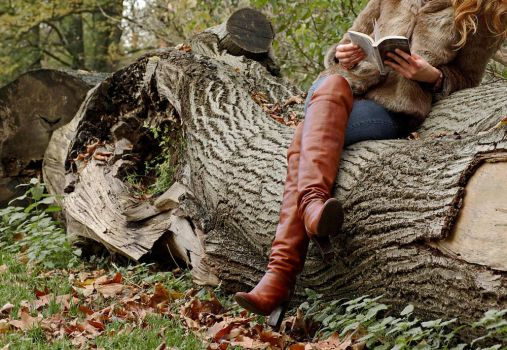 Reading on a trunk by stereo-B