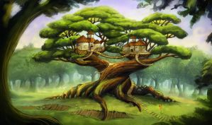 Twins house by lexie-smith
