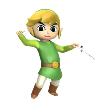 Toon Link Hyrule Warriors style by Nibroc-Rock