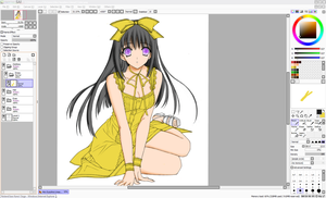 WIP Coloring Practice by UmedaIsao