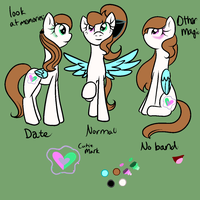 Featherheart Ref Sheet by ZakSaturday2468