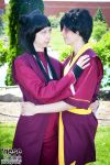 Mai and Zuko by rawien
