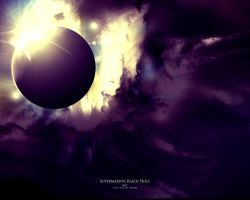 Supermassive Black Hole w1 by gokun