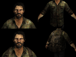 The Last Of Us - Joel Render by Math4Dead