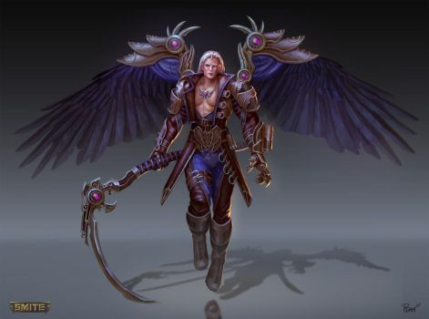 Thanatos Final Boss Concept by PTimm