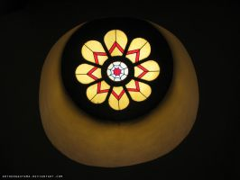 Stained glass window by ArthurGautama
