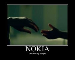 Nokia - Connecting people xD by Luci3DG