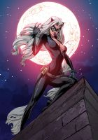 Blackcat On The Prowl by ChickenzPunk