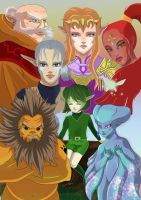 7 sages by Link-artist