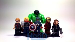 The Avengers by henrydig