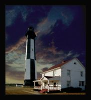 Cape Henry Lighthouse by Deliciaa