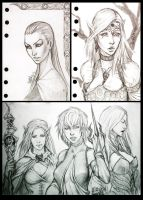 Sketches 6 by Rayvell