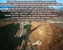Corporations VS the Environment by EuropeanCowboy