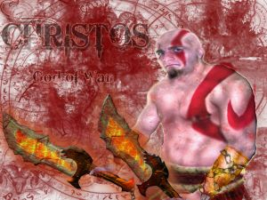 Me as Kratos...but as Christos