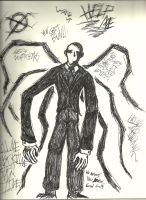 Slenderman by BloodWar7